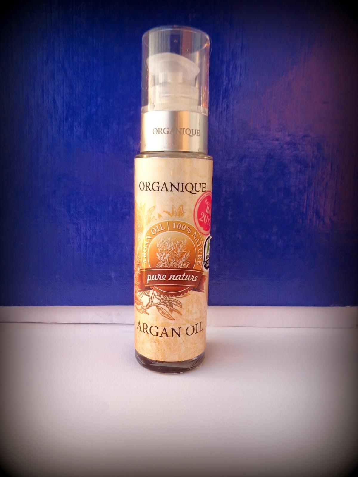 olejek do włosów organique