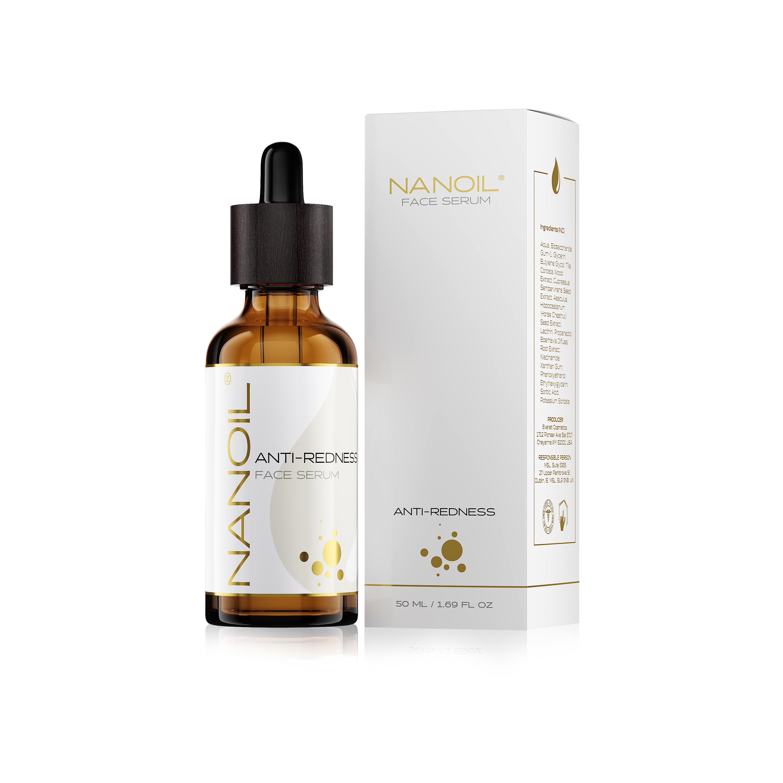 najlepsze serum do twarzy do cery naczynkowej Nanoil