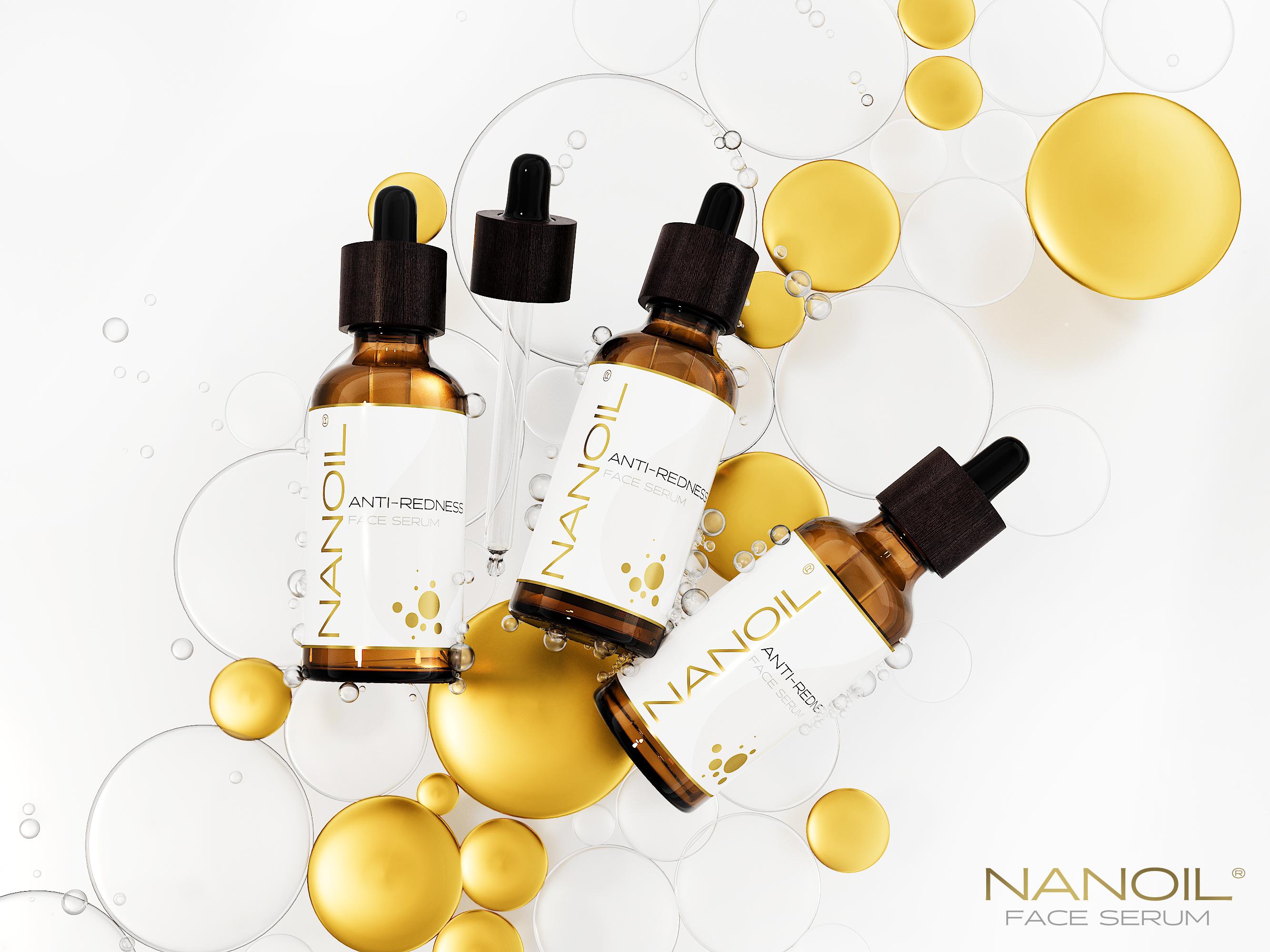 Nanoil najlepsze serum do cery naczynkowej